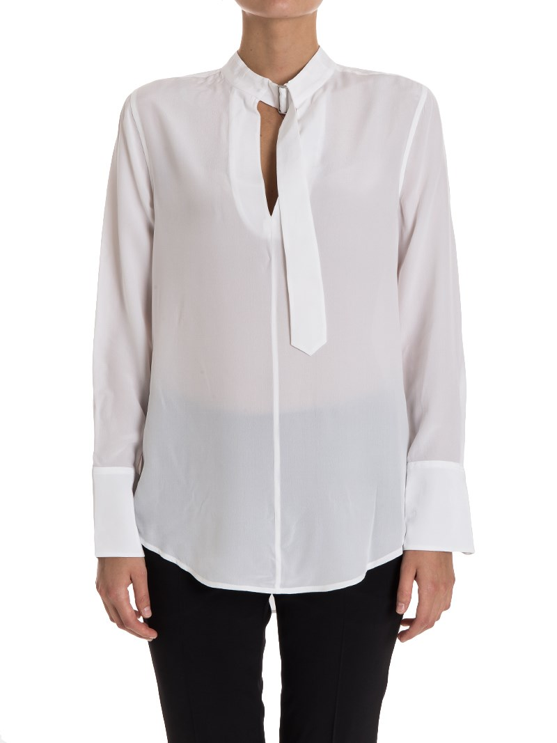 [관부가세포함][이큅먼트] Janelle blouse (Q23-E977 BRIGHT WHITE)