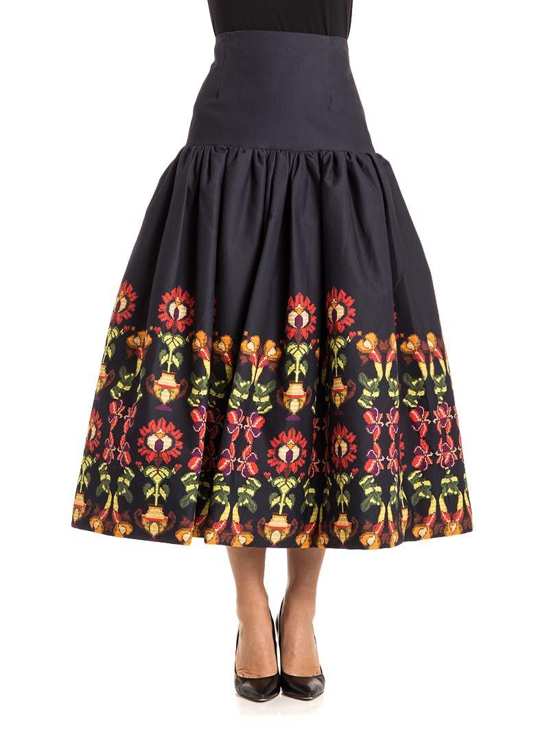 [관부가세포함][스텔라진] Cotton skirt (J G 026 00 S 2981 0061)