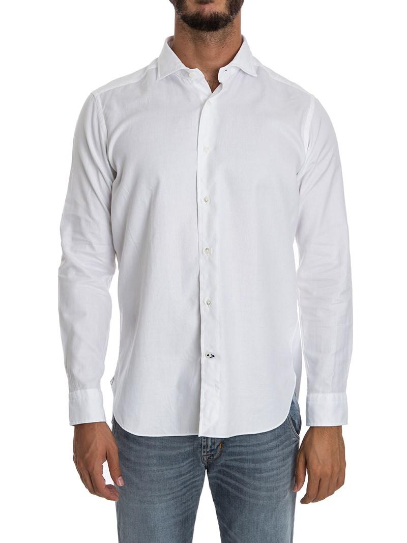 [관부가세포함][Truzzi] Granda cotton shirt (B1D9 1T18 0000)
