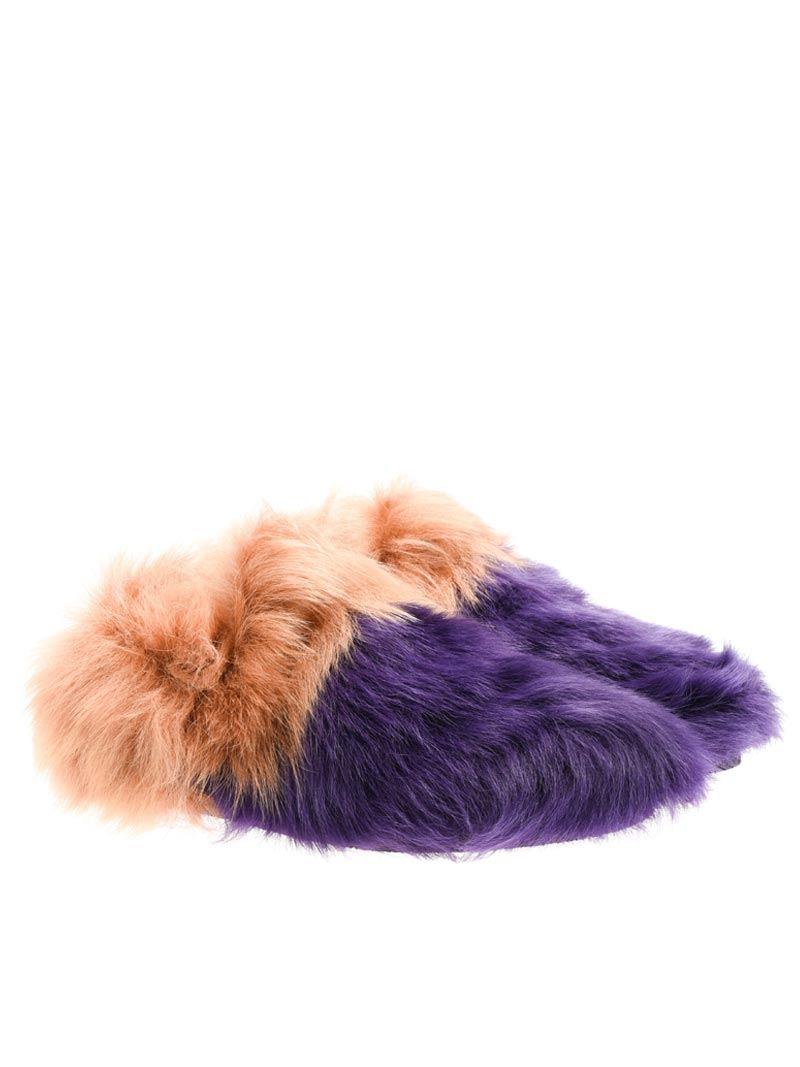 [관부가세포함][카슈] Fur shoes (KDS27O QMB F0D3V IRIS+SUGHERO)