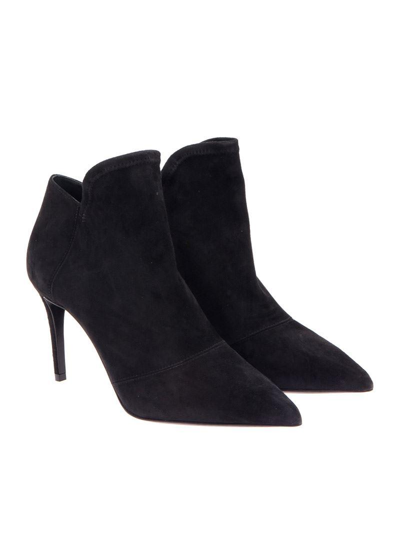 [관부가세포함][그레이머] Suede shoes (316.080 01 NERO)