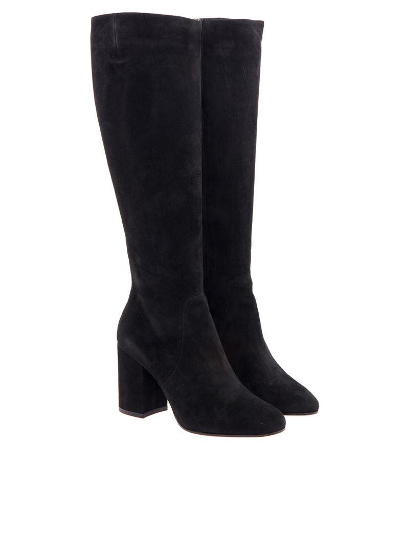 [관부가세포함][그레이머] Suede boots (115.080 03 NERO)