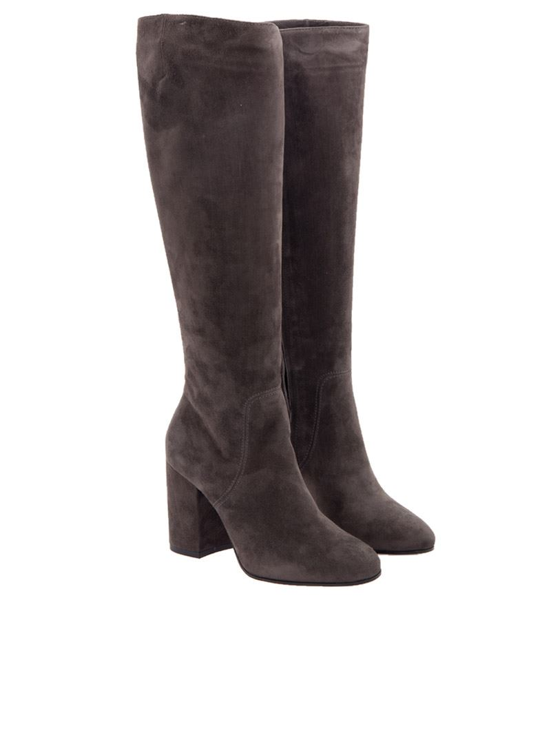 [관부가세포함][그레이머] Suede boots (115.080 04 SMOKE)