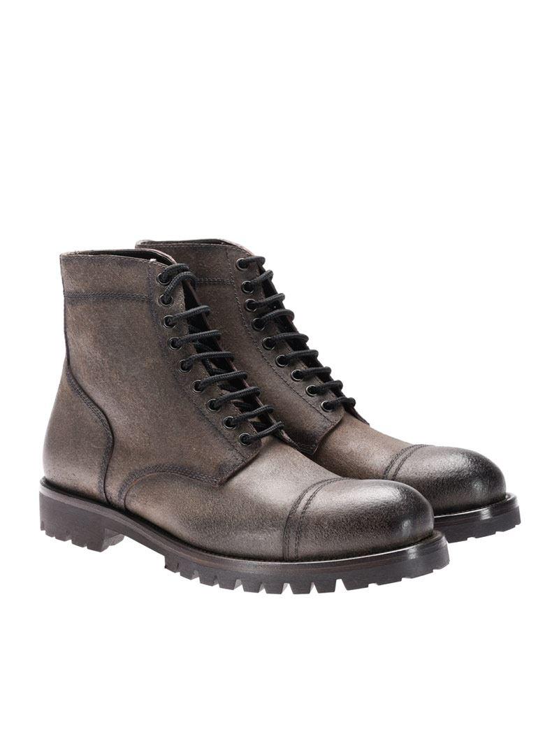 [관부가세포함][라파로] Leather ankle boots (I17080 302)