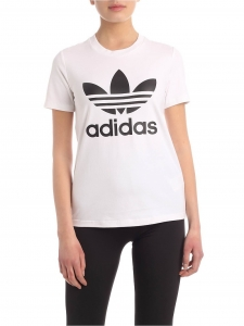 [아디다스] SS20 여성 트레포일 반팔 티셔츠 IT 40 (FM3306_C)_빠른배송