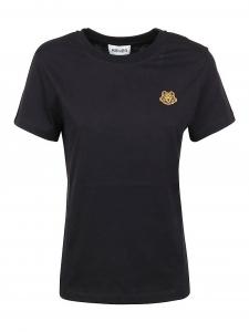[겐조] FW20 여성 타이거 패치 반팔 티셔츠 XS (2TS843 4SJ 99_C)_빠른배송